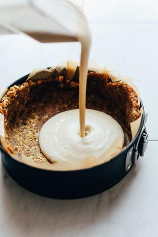 matcha teás sajttorta egészséges cukormentes