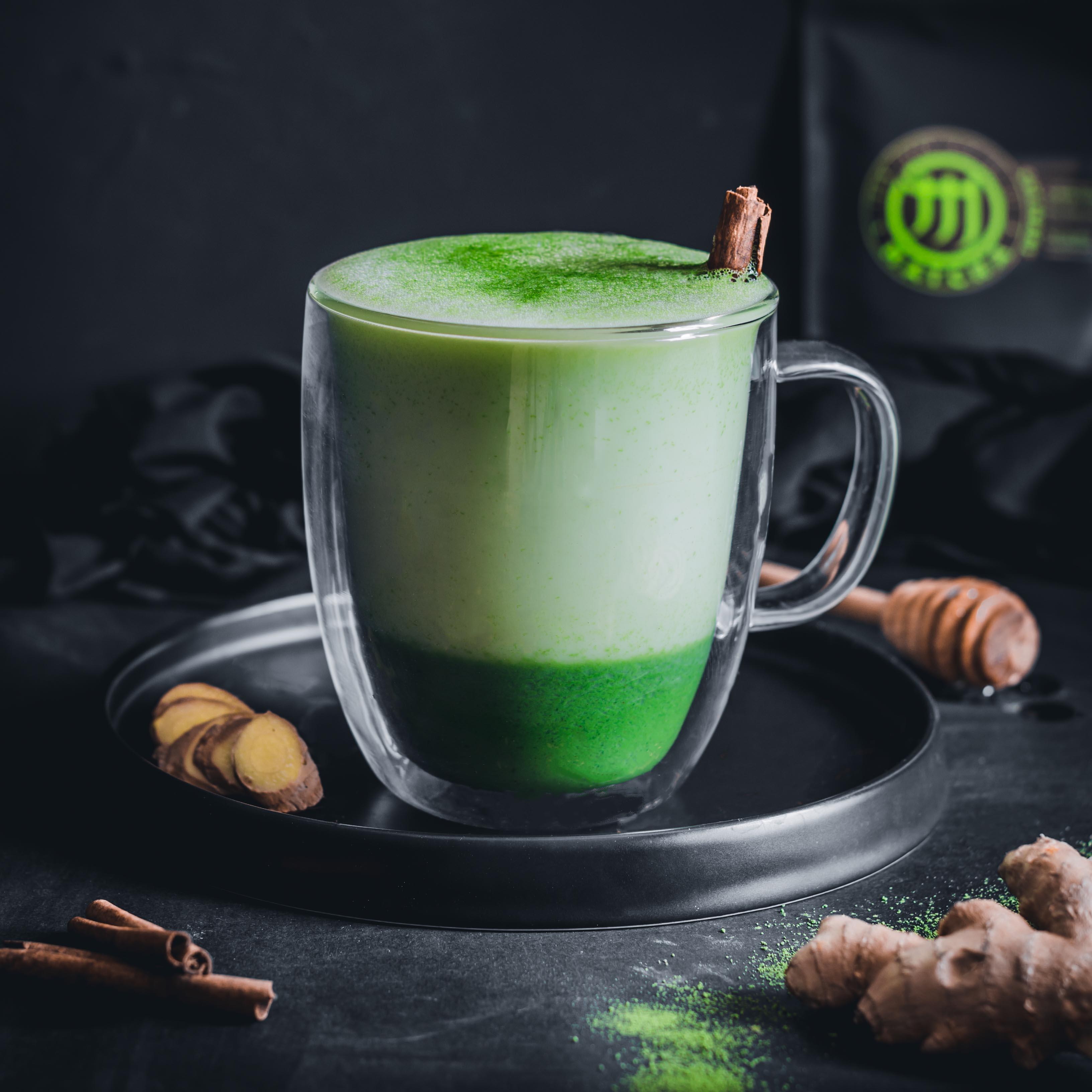 Gyömbéres matcha latte - a legjobb immunerősítő ital