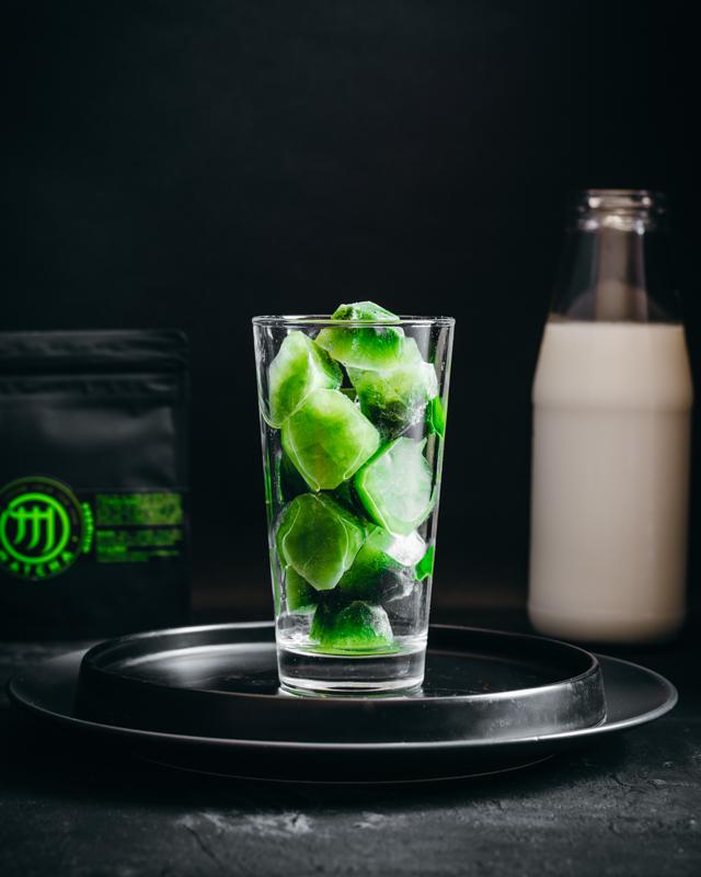M Matcha jégkockák