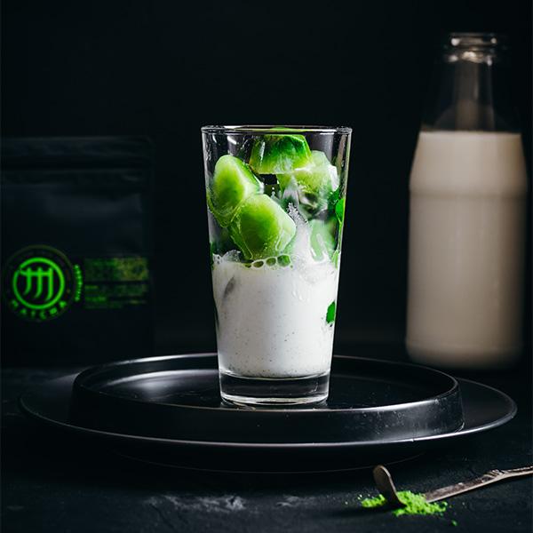 M Matcha jégkocka