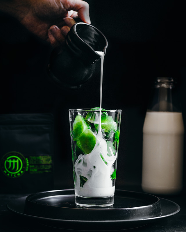 M Matcha jégkocka kókusztejjel