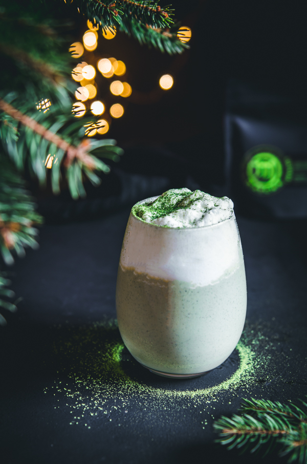 M matcha tojáslikőr karácsonyi hangulatfotó
