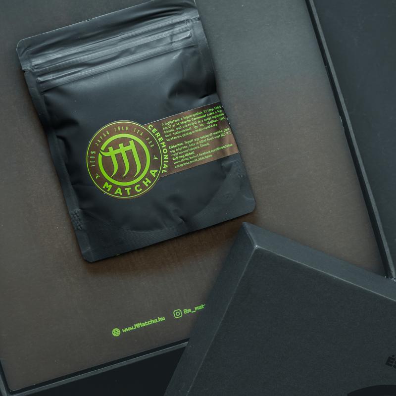 A matcha tea, mint exkluzív ajándék